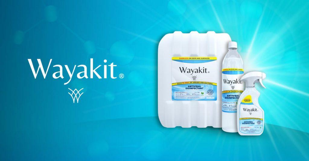 Wayakit Antiviral Disinfectant